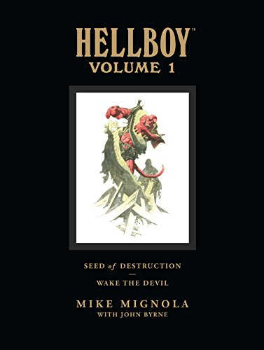 Hellboy Library Edition, Volume 1: Seed of Destruction and Wake the Devil