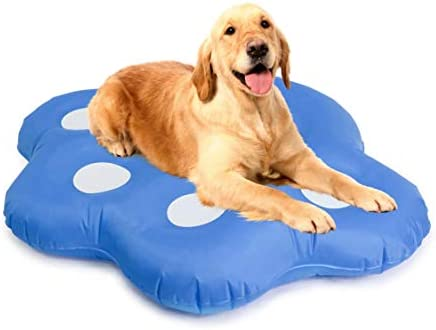 Milliard Dog Pool Float Inflatable Ride On Puppy Paw Raft for Pets Swimming product image