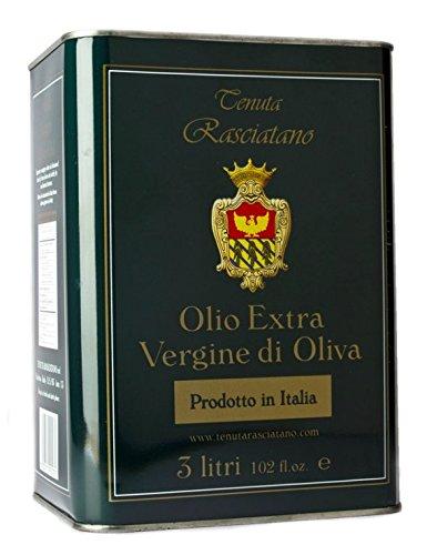 Olio Extra Vergine di Oliva Tenuta Rasciatano 3 litri