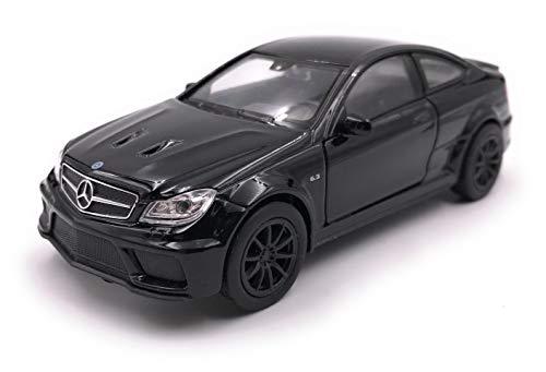 Onlineworld2013 Modellauto Amg C63 Black Series Schwarz Auto Maßstab 1:34-39 (lizensiert)