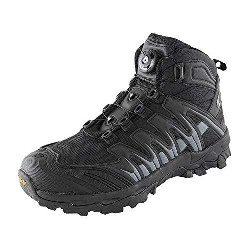 QHGao Ademende Woestijn Training Sneakers, Antislip Wandelschoenen, Automatische Gesloten Lace-Up woestijn Militaire Laarzen, Heren Brede Wandelschoenen, Wandelschoenen
