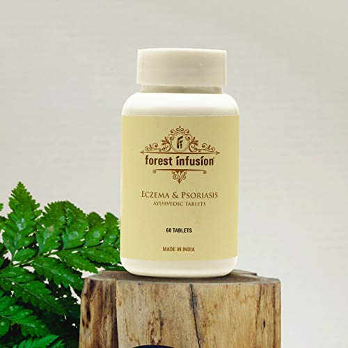 Forest Infusion Ayurvedic Tablets, Cream, Oil and Soap for Psoriasis, Eczema & Other Skin Conditions (tablet)