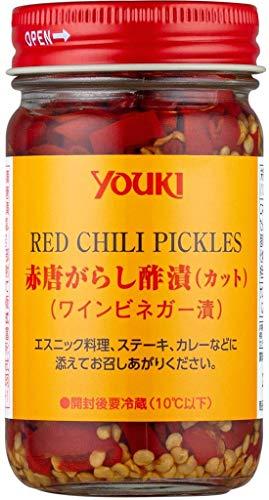 YOUKI ユウキ 赤唐辛子カット 酢漬け 110g 12個 ZTHC