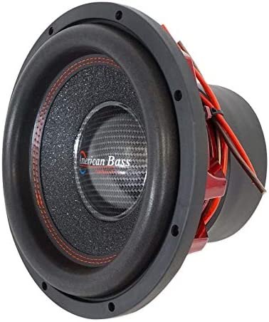 American Bass Competition 12 3000 Watt Dual 4 Ohm Subwoofer Hawk 1244 product image