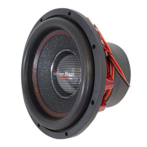 American Bass Competition 12' 3000 Watt Dual 4 Ohm Subwoofer Hawk 1244