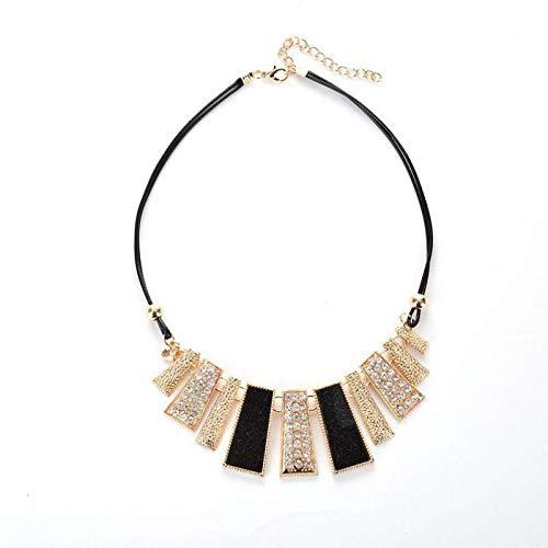 collar Collar Con Colgante De Cristal Geométrico, Joyería Para Mujer, Collares Llamativos, Colgantes, Gargantilla, Accesorios Colar