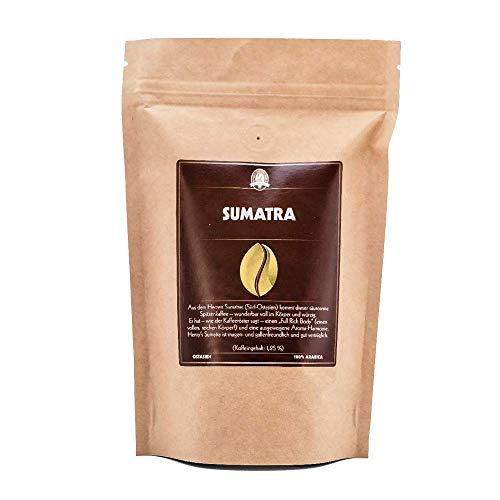 Henry´s Kaffee - Sumatra 1000g- säurearmer Spitzenkaffee - Aroma-Harmonie - erlesene Qualität - Handwerklich in Deutschland geröstet - Kaffeebohnen direkt vom Bauern