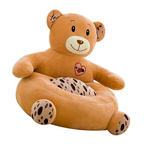 B Blesiya Kinder Sitzsack Bezug Sitzsackhülle Sitzsackbezug Abdeckung, Tier-Serie - Bär