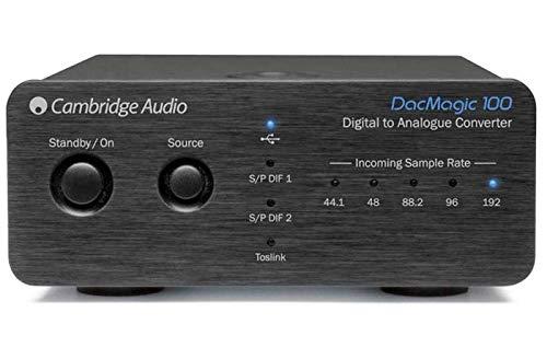 Cambridge Audio DacMagic 100– Digital-Analog-Wandler mit USB-Audio, unterstützt bis zu 24bit/192kHz