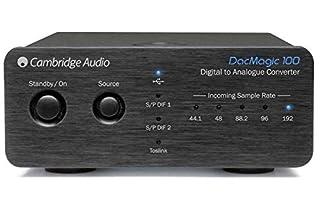 Cambridge Audio DacMagic 100 Audio-Konverter Schwarz (B0078Q35PG) | Amazon price tracker / tracking, Amazon price history charts, Amazon price watches, Amazon price drop alerts