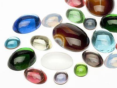 OPTIMA Pierres de gemme de Ovale 8-25mm (Oval Mix), 30 Pièces