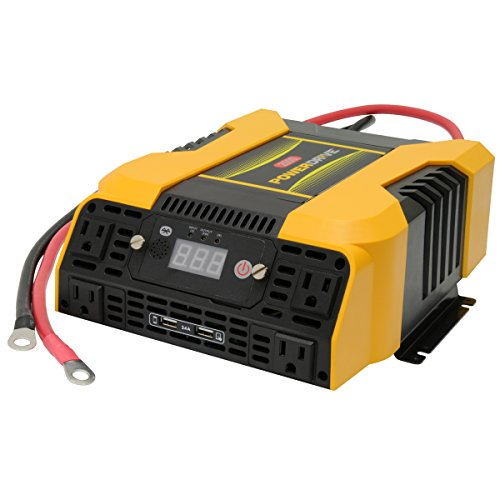 PowerDrive PD2000 2000W Power Inverter with Bluetooth