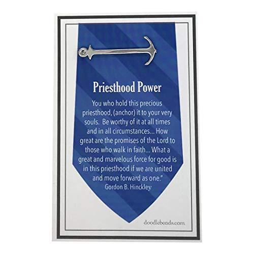 Doodle Beads LDS Priesthood Power Tie Bar