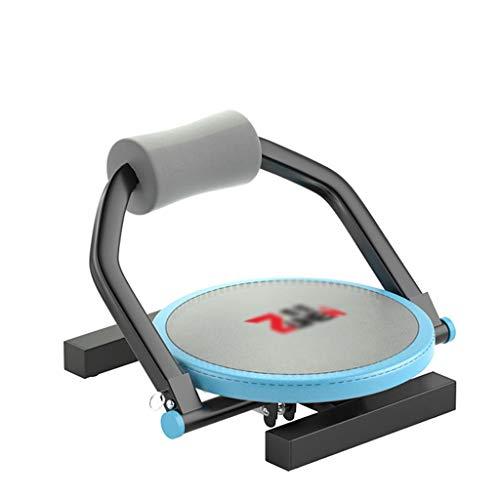 Zyj Hantelbank Sit Up Bauchbänke Brett Bauchtrainer Workout Kraft-Maschine Adjustable Fitness Faltbare Rücken Brett Home Sport (Color : Blue)