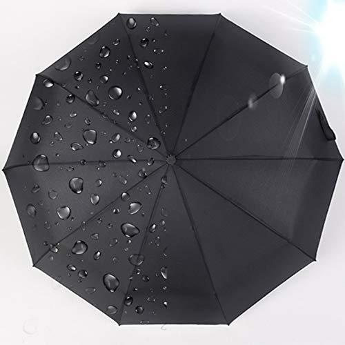 Xiaojing Paraguas De Negocios para Hombres Totalmente Automático con Un Botón para...