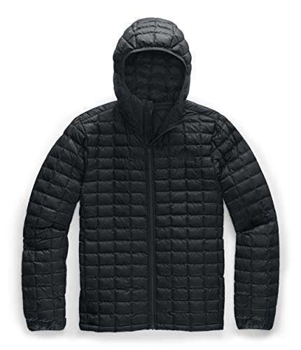 The North Face Men's Thermoball Eco Hoodie Jacket, TNF Black Matte, M