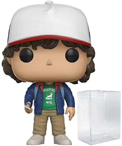 Funko Stranger Things - Dustin with Compass Pop! Vinyl Figure (Includes Compatible Pop Box Protector Case)