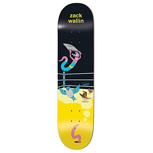 Enjoi Big Dreams Impact Light Skateboard Deck 8.5 inch Zack Wallin
