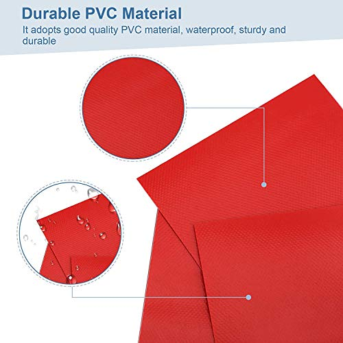 PVC Patch Repair Kit,Repair Patches Kit for Inflatable Raft Boat