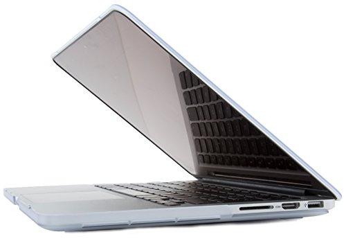 COOL BANANAS SmartShell Slim MacBook 12 Retina Hülle | Cover | Snap Case | Gummierte Oberfläche | Hüllen Matt und Dünn | Mac Book 12 Zoll | Transparent