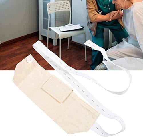 LSSB G Röhrchenhalter, Peritonealdialyse Gürtel Katheterhülle Drainage Gurtauflage Abdominal Dialyse-Schutz Fixateur Medical Nursing for Männer Frauen