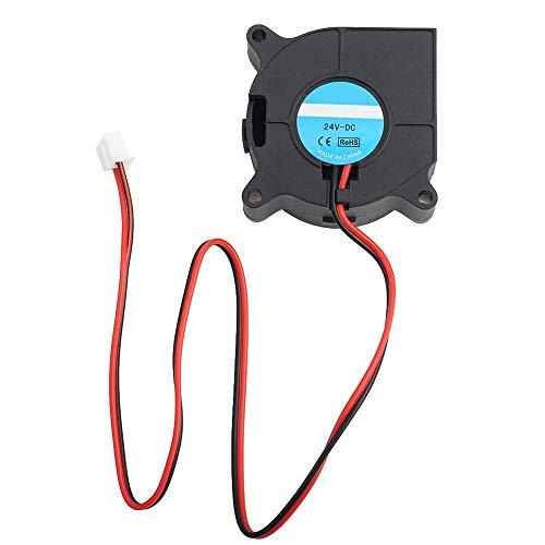 Mugast Lüfter für 3D Drucker,Super Belüftung 40x40x20mm Radial Lüfter Turbine Gebläse Cooling Fan,3D-Drucker Zubehör 4000-6000rpm Turbo Fan Gebläse Kühlung Ventilator Schwarz(24V)