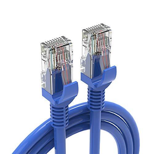 Maju Kabel Cat6 LAN kabel Ethernet kabel sieciowy 2 metry 3 metry niebieski (3 metry)