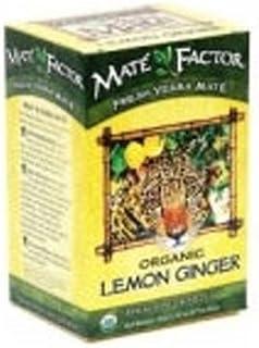 Mate Factor Lemon Ginger 24 ct