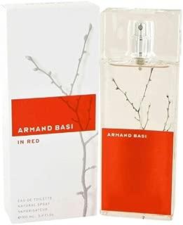 Armand Basi in Red by Armand Basi Women's Eau De Toilette Spray 3.4 oz - 100% Authentic