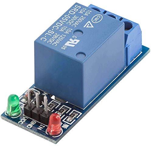 AZDelivery 1-Relais 5V KF-301 Modul Low-Level-Trigger für Arduino
