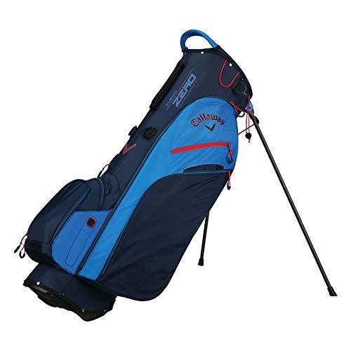 Callaway Golf 2018 Fusion Zero Stand Bag, Navy/ Royal/ Red