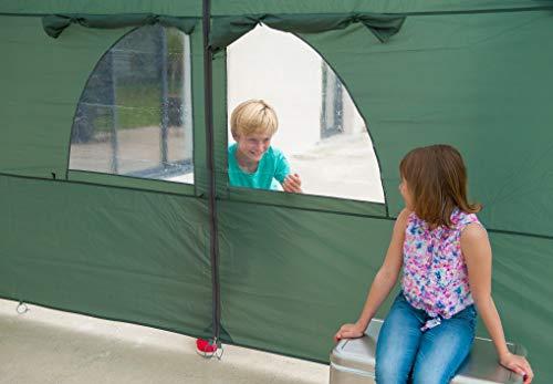 Coleman Sicht- und Windschutz als Türelement für Event Shelter, 4,5 x 4,5m - 5