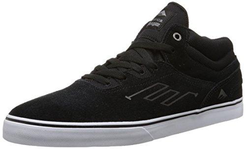 Emerica Herren Westgate Mid Vulc Skateboardschuhe, Schwarz Weiß, 45 EU