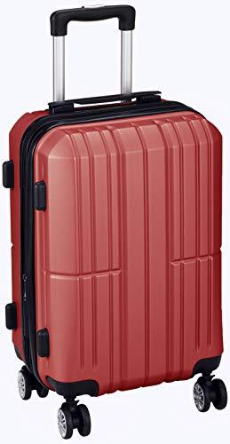 [アイダディ] 【idadi】軽量キャリーケース スーツケース M-7035 機内持ち込み可 保証付 35L 50 cm 3.1kg ワイン