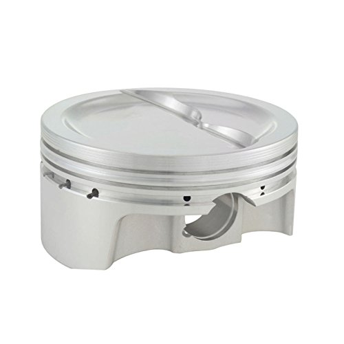 CP Pistons (BC1120-030-8) Bullet Series 4.155 Bore Dished Piston Set with Rings for Small Block Chevy Engine