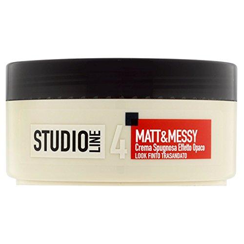L'Oréal Paris Studio Line Matt&Messy Crema Spugnosa, 150 ml
