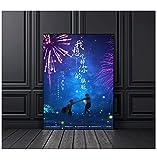 Quiero comerme tu páncreas póster de anime decoración de la pintura de la pared del hogar (sin marco) -50x70cm sin marco