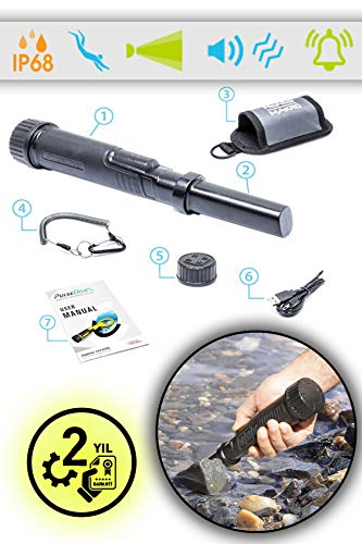 Nokta Metal Detector PULSEDIVE MAKRO PINPOINTER Impermeabile SUBACQUEO Waterproof 60 Metri