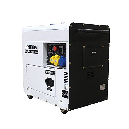 Hyundai DHY6000SELR - Generador (diésel)