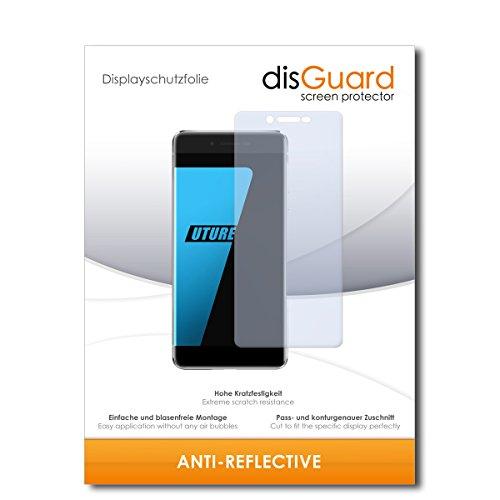 disGuard Bildschirmschutzfolie für Ulefone Future [2 Stück] Anti-Reflex, MATT, Entspiegelnd, Extrem Kratzfest, Anti-Fingerabdruck - Bildschirmschutz, Schutzfolie, Panzerfolie