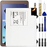Replacement Battery Compatible with Samsung Galaxy Tab E SM-T560/SM-T560NZKUXAR SM-T560NZKZXAR/SM-T560NU,EB-BT567ABA Battery with Adhesive Tape Tool Repair Kit