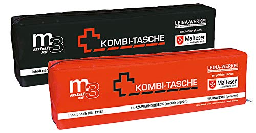 Leina-Werke 14047 Mini-Kombitasche M3 mit Klett, XS, Sortiert