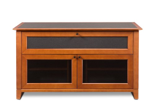 Hot Sale BDI Novia 8428, Double Wide Enclosed Cabinet - Natural Stained Cherry