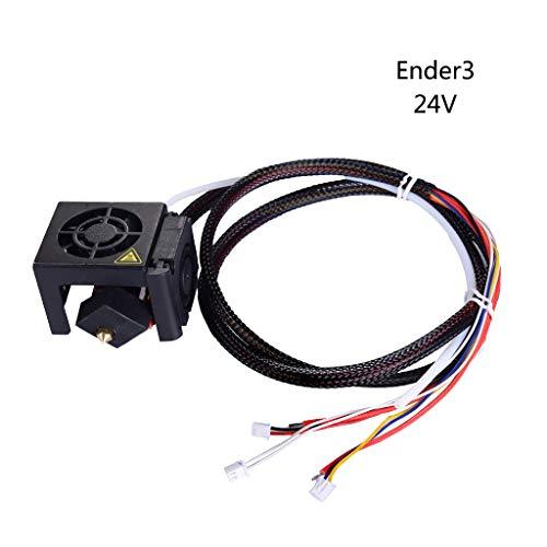 Planuuik 1Set 12/24V Extruder Hotend 3D-printerkit met ventilatorkap luchtaansluitmondstuk