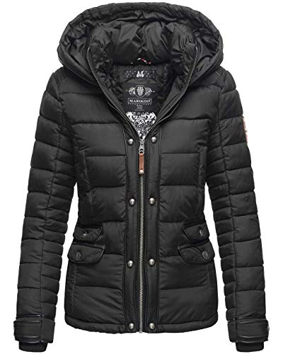 Marikoo Designer dames winter jas gewatteerde jas winterjas gewatteerde B804