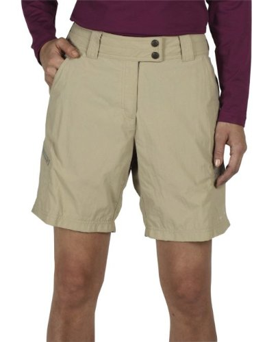 Big Sale ExOfficio Women's Nomad Short,Light Khaki,8