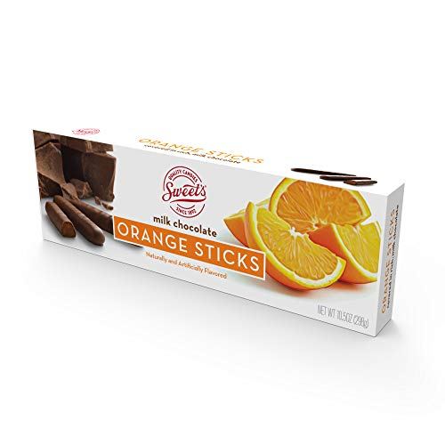 Milk Chocolate Orange Sticks, Chocolate Candy Sticks