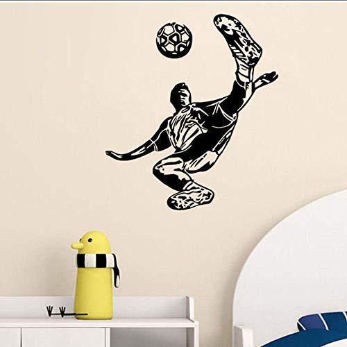 Muursticker sport voetbal kinderkamer decor voetbal poster vinyl snede muurtattoos voetbal sticker sjablonen