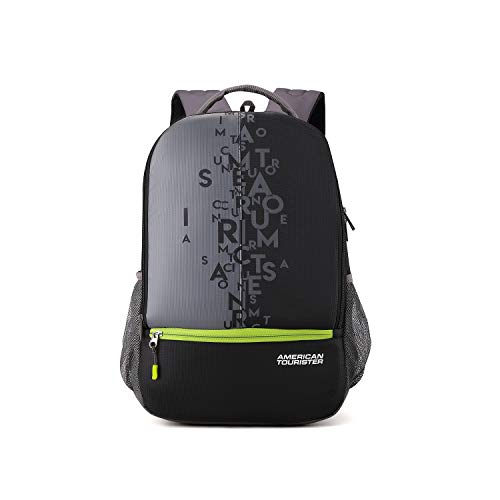 American Tourister 32 Ltrs Black Casual Backpack (AMT FIZZ SCH BAG 02...