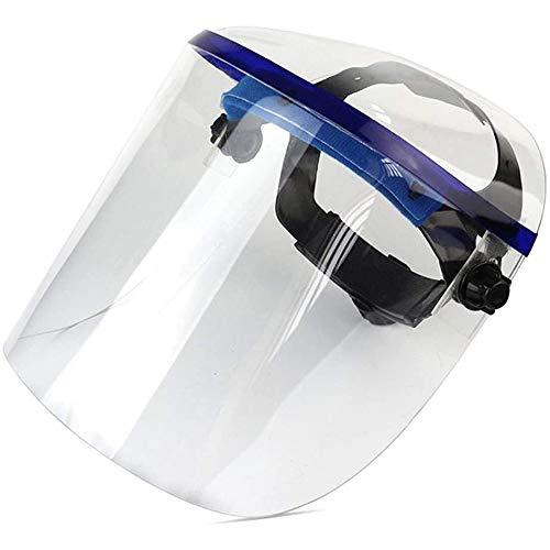 Dispositivi di Protezione Individuale Protezione Epidemia Completamente Chiusa A Prova di Splash Plexiglass Trasparente Montato sulla Testa di Saldatura Kitchen Protection